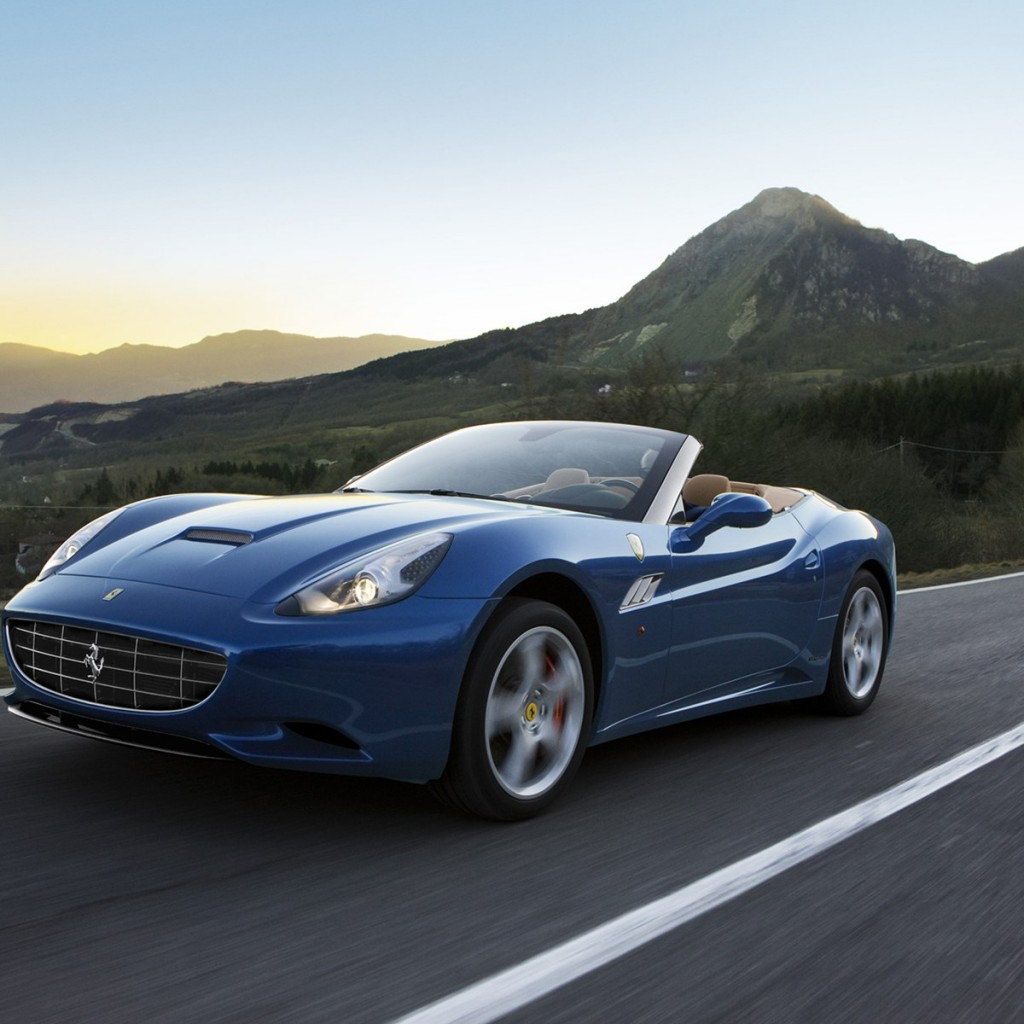 Want To Drive A Ferrari California?
