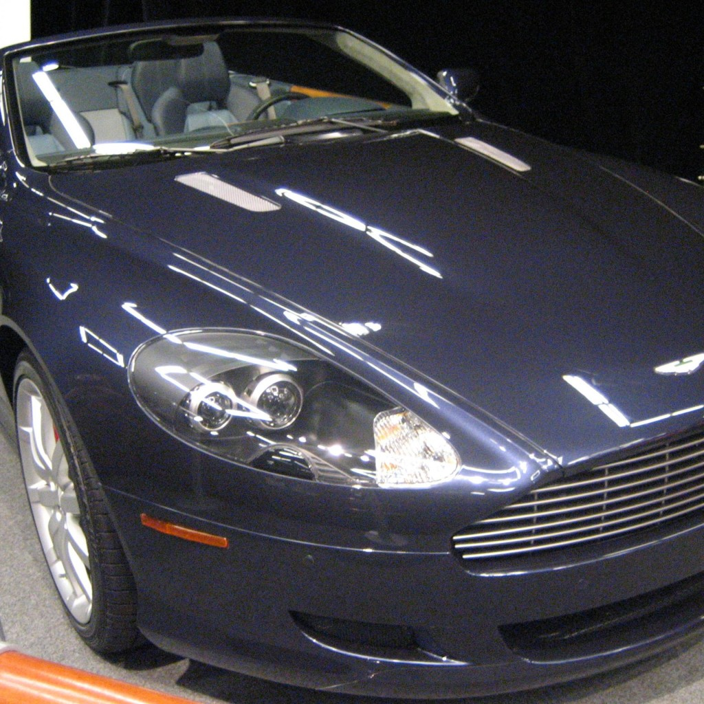 Want To Drive An Aston Martin DB 9 Vota?