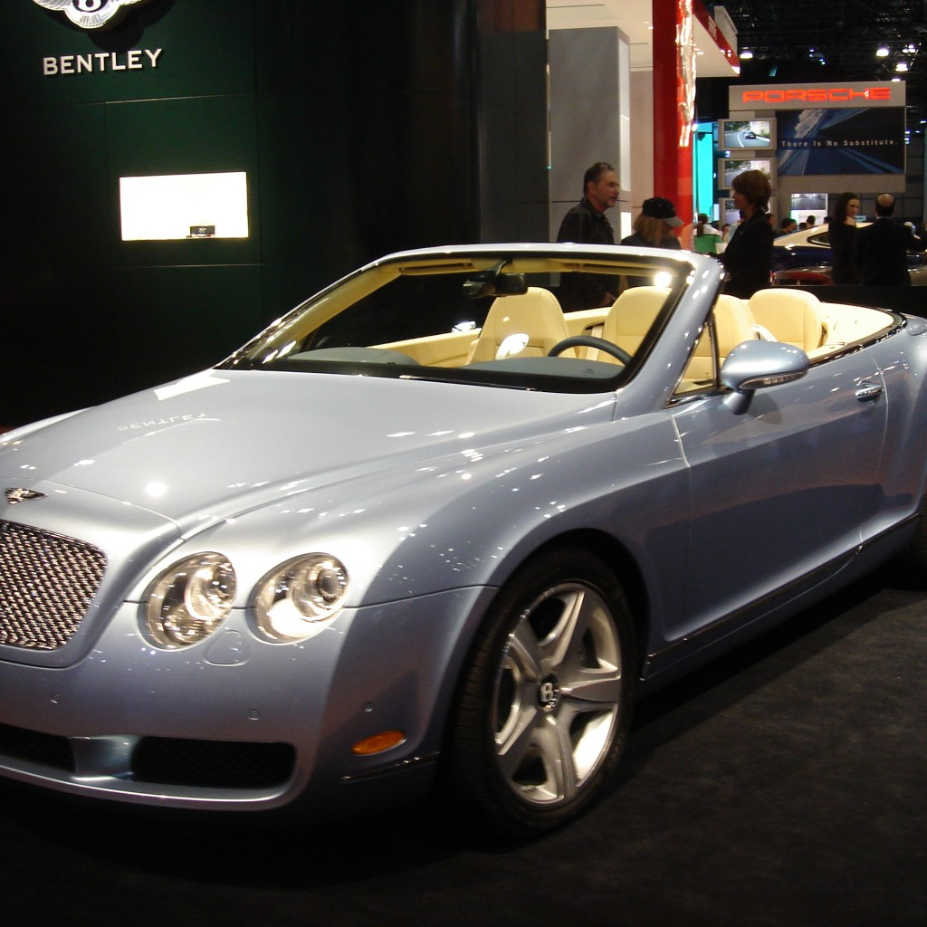 Want To Drive A Bentley Continental GTC?