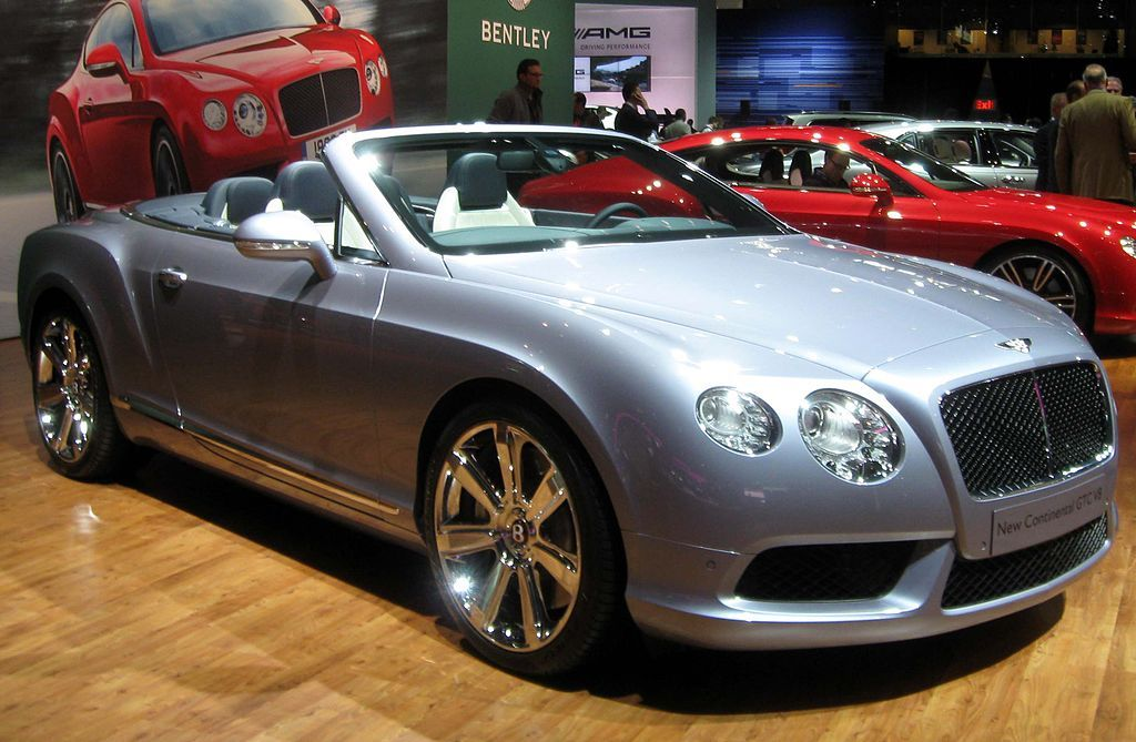 Want To Drive A Bentley Continental Gtc Exotic Car Rental