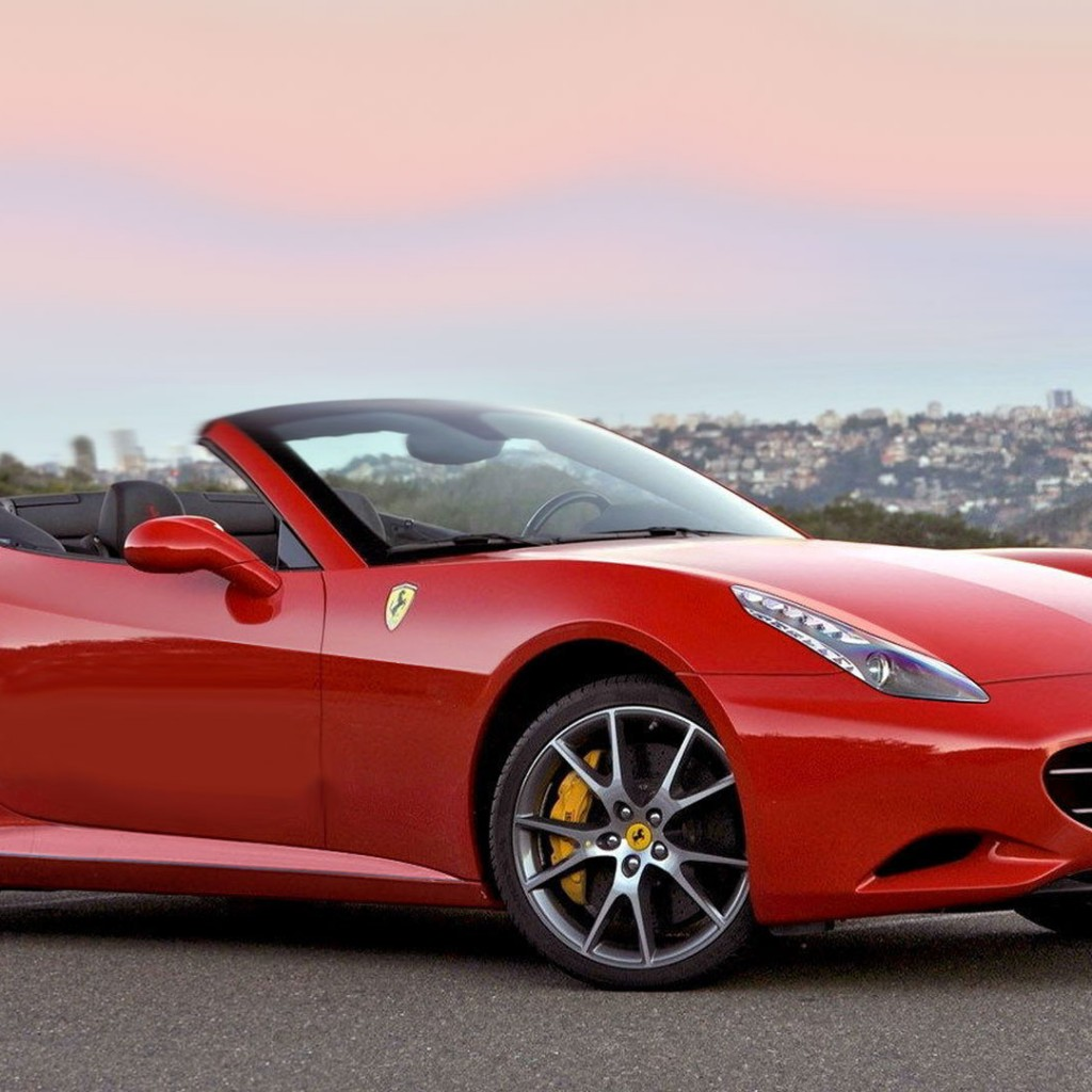 Ferrari-California-red
