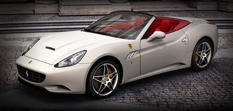 Want To Drive A Ferrari California Exotic Car Rentals