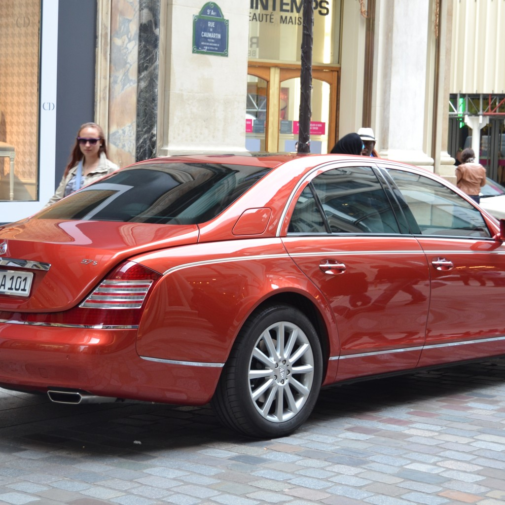 Want To Drive A Maybach 57?