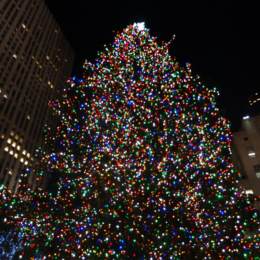 See the Rockefeller Center Christmas Tree Lighting as a VIP
