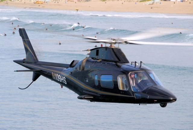 helicopter beach takeoff