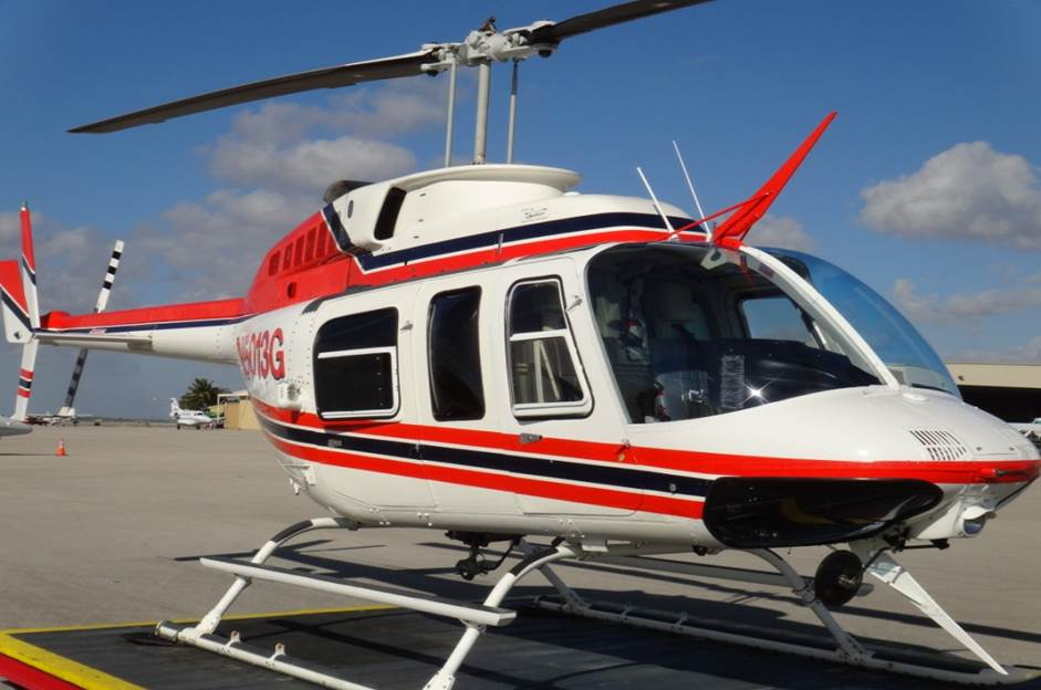 Enjoy The Thrill Of A Chartered Bell Jet Ranger Helicopter
