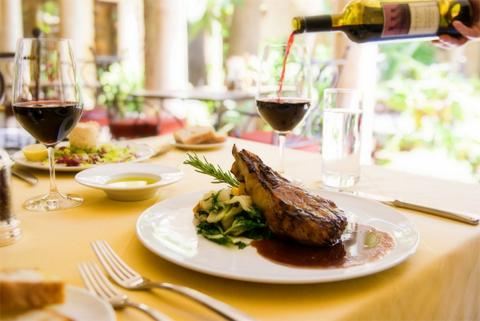 Private Meal at Boutique Winery