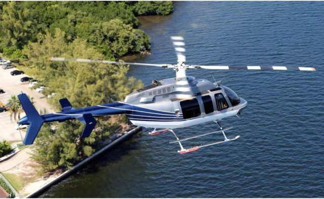 Enjoy The Thrill Of A Chartered Bell 407 Helicopter