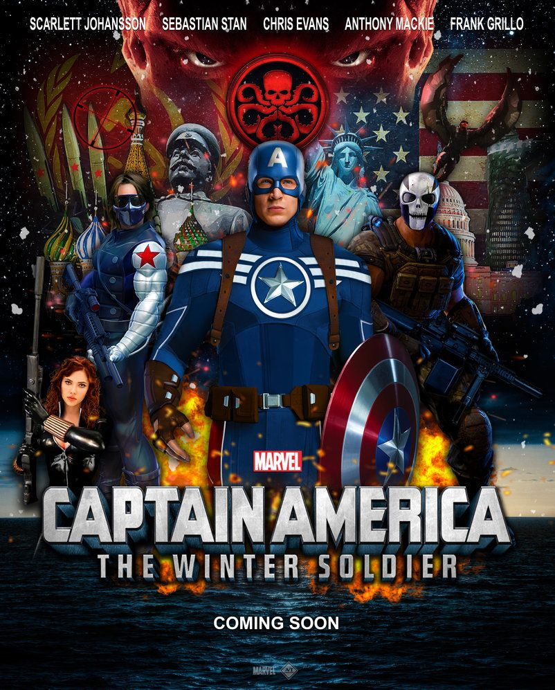 Captain America: The Winter Soldier dvdrip