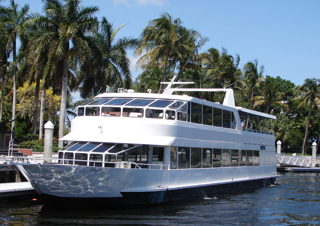 110 Party Yacht Rental Miami Ft Lauderdale Boca