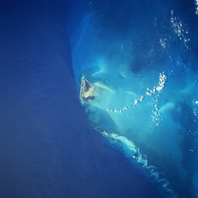Bimini Island View from Above