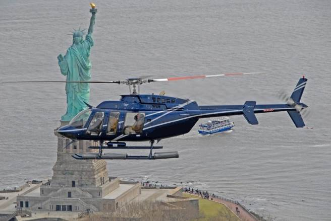 Scenic Helicopter Tours New York City