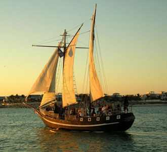 Private Charters of a 75' Pirate Ship Schooner Charter