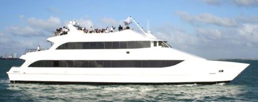 party yacht charter in miami