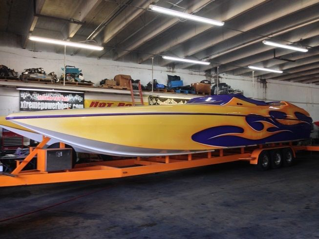 38 Foot Express Cat Offshore Race Boat