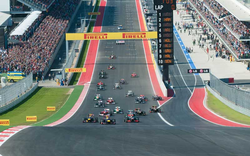 United States Grand Prix >> Attend The 2019 United States Formula 1 Grand Prix In Style