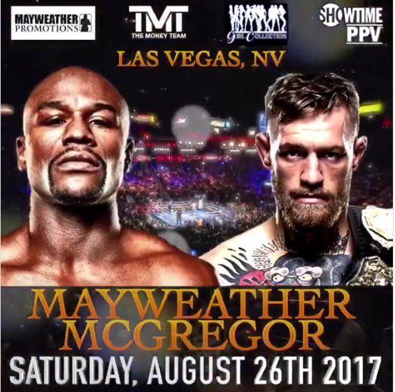 Fight of The Century Mayweather vs McGregor