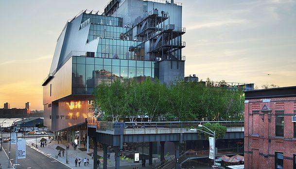 Whitney Museum Of Art in New York