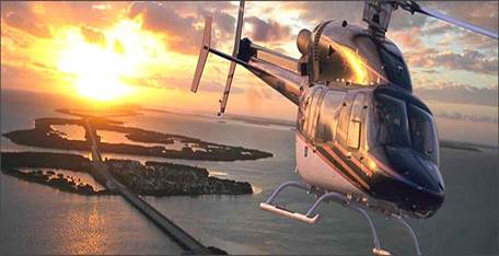 "Helicopter/Seaplane to ""A Little Piece of Heaven in Paradise"""